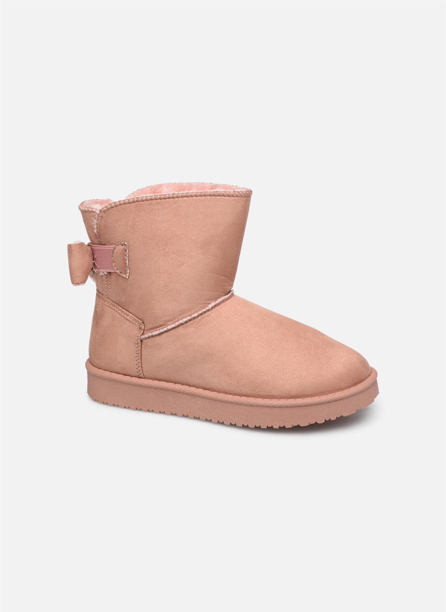 botas-thichibo. Botas forradas en rosa, de I Love Shoes