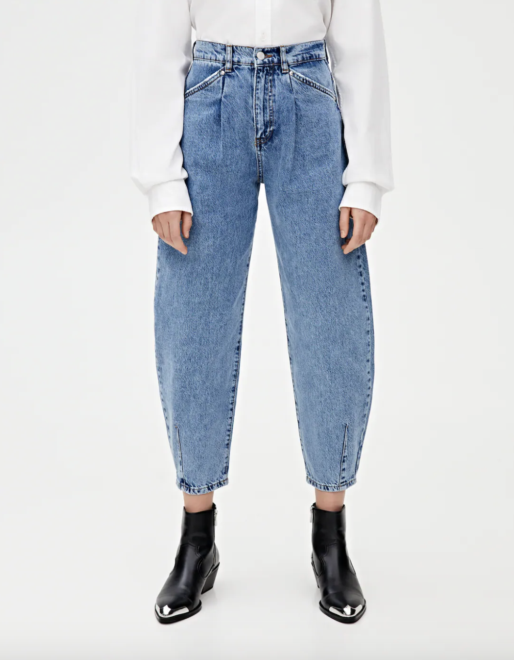 vaqueros-slouchy-tipo-pinza-pull-and-bear. Vaqueros slouchy tipo pinza