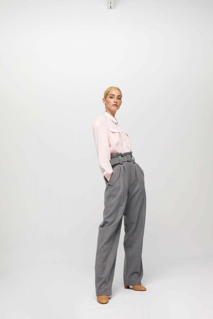 Pantalones De Pana Terciopelo Y Lana De Mujer Invierno 2020 Para Ir A La Moda