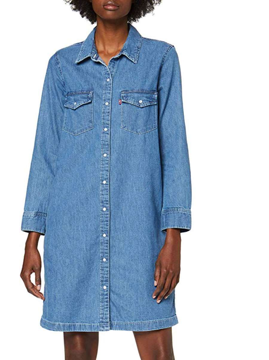 amazon-black-friday-levis-Levi's-Selma-Dress-Vestido-para-Mujer