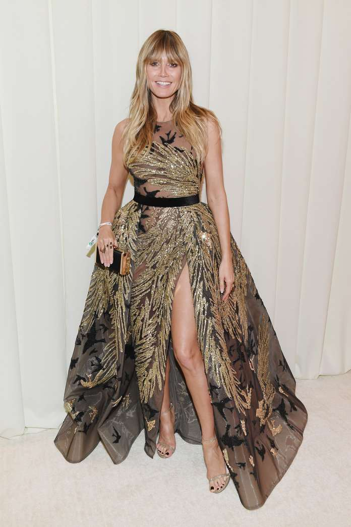 heidi klum KEVIN MAZUR GETTY IMAGES