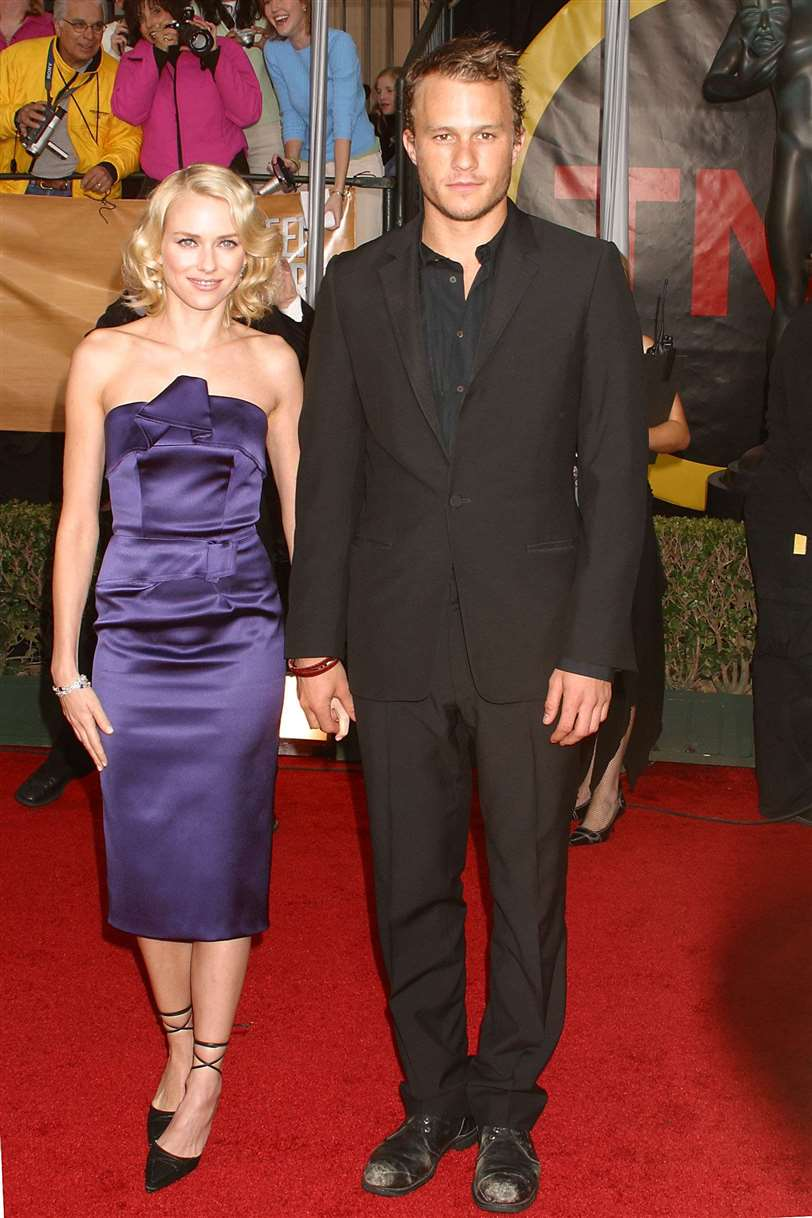 Naomi Watts y Heath Ledger