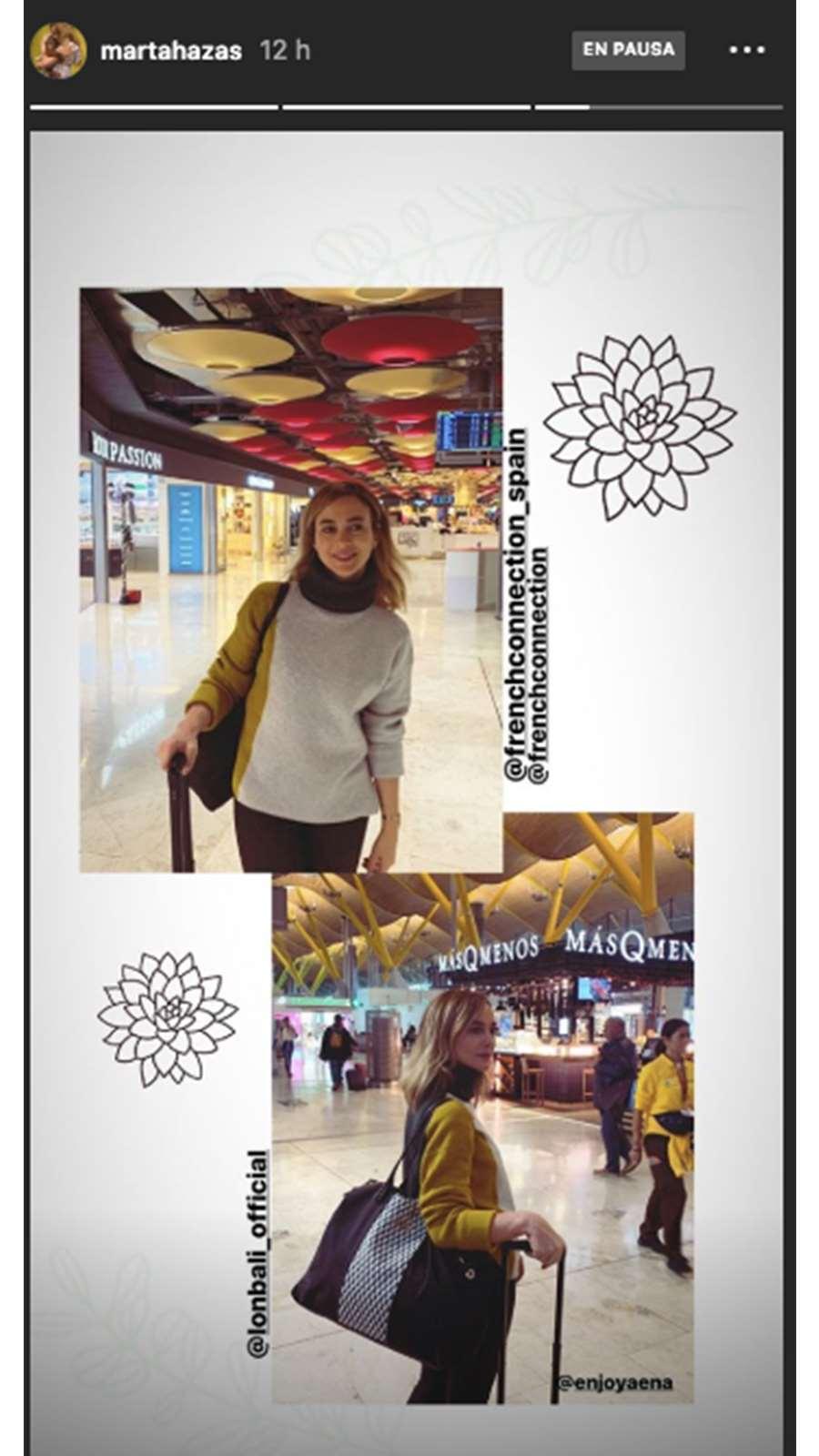 Marta Hazas tiene el bolso perfecto para viajar (y nosotras