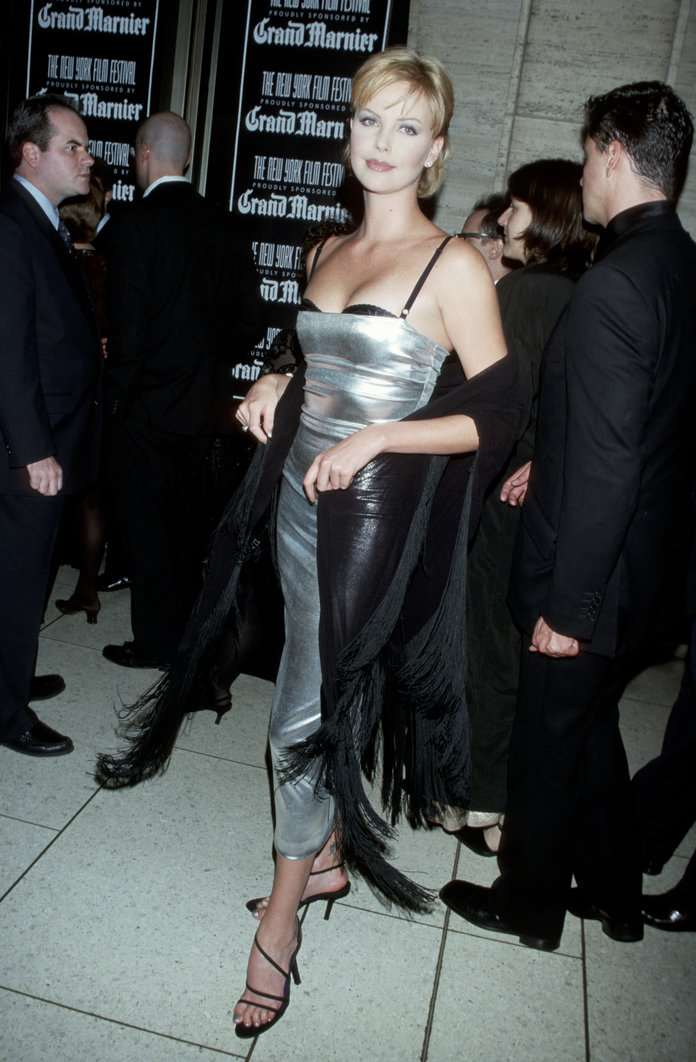 Charlize Theron Metallic Dresses - 2