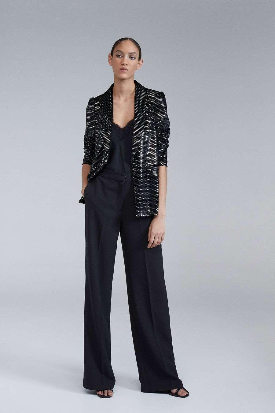 sfera chaqueta piel mujer