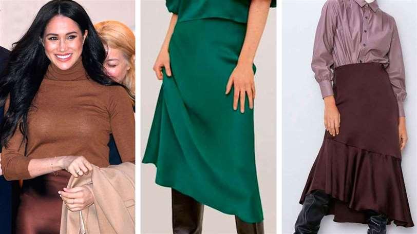 Las 5 faldas virales de Zara y Mango, ¿por qué todas las llevan?