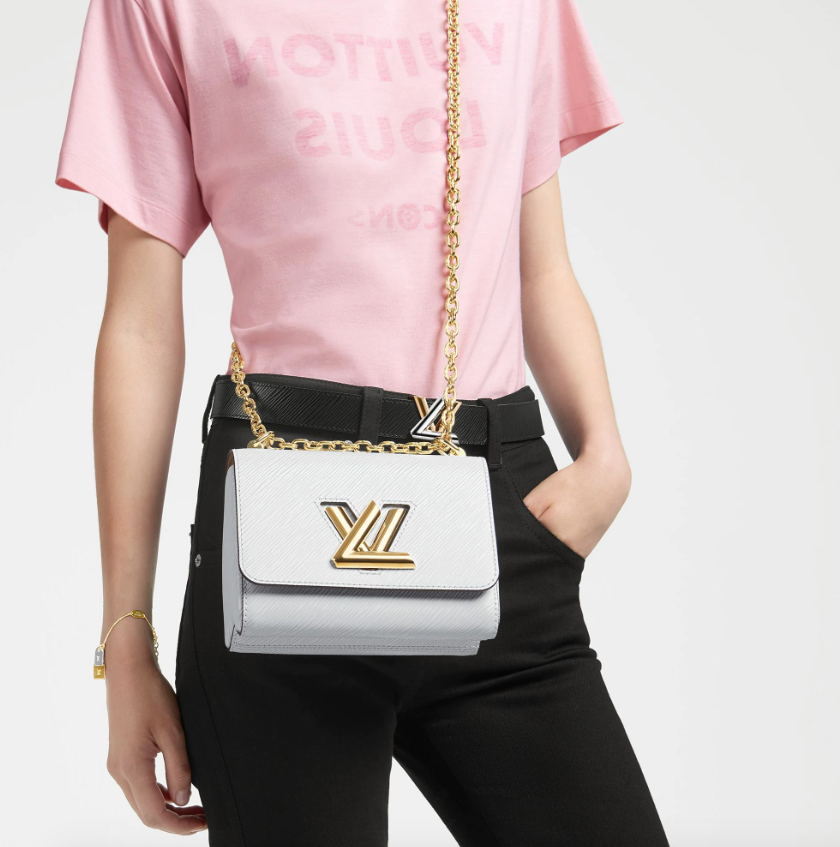 Bolso bandolera Twist, Louis Vuitton