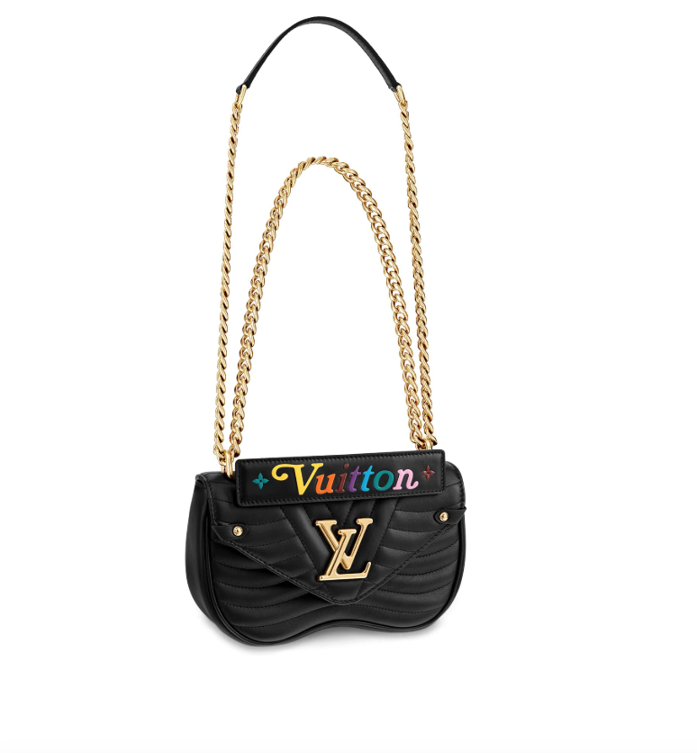 Bolso con cadena modelo New Wave, Louis Vuitton