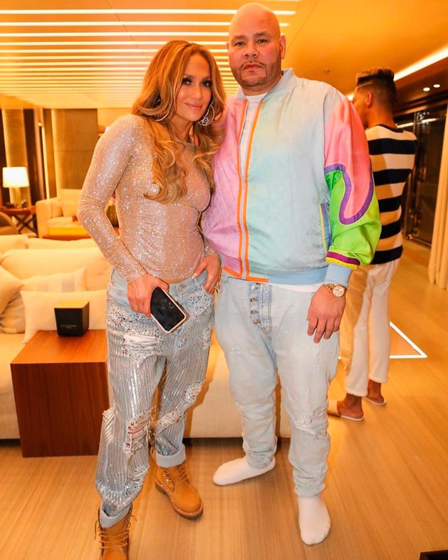 Jennifer Lopez con Fat Joe