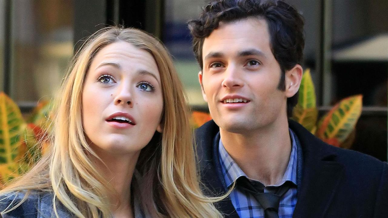 Blake Lively y Penn Badgley