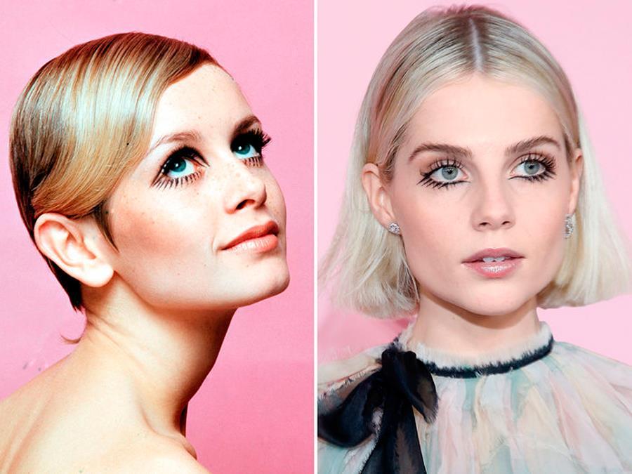 Sorprendentemente fácil peinados que rejuvenecen a los 60 Imagen De Tendencias De Color De Pelo - Cortes de pelo, peinados y maquillaje retro de los años 60 ...