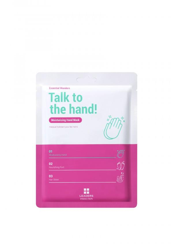 Mascarilla de manos Talk To The Hand Mask, de Miin Cosmetics
