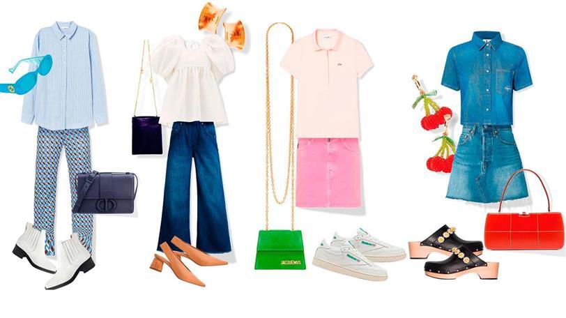 Looks de moda primavera: cómo combinar ropa