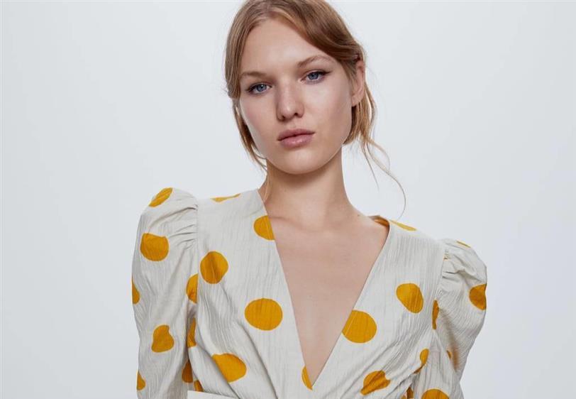 camisa amarilla mujer zara