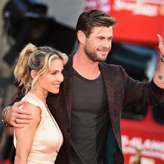 Chris Hemsworth ha explicado por qué Elsa Pataky no ha cambiado de apellido