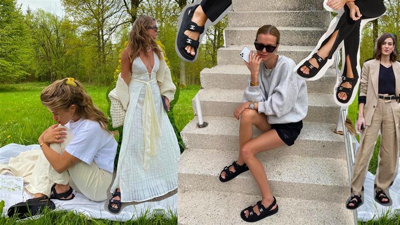 Ugly sandals o dad sandals de Chanel