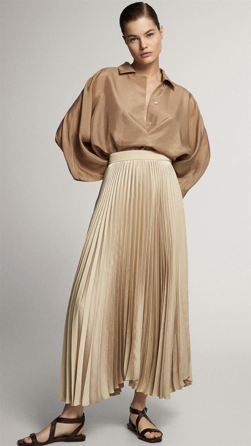 La falda de Letizia Ortiz
