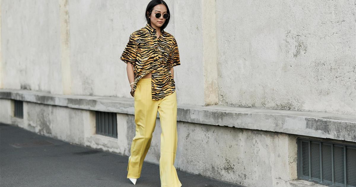 Como Llevar Pantalones Anchos De Mujer El Verano 2020 Y Parecer Mas Delgada