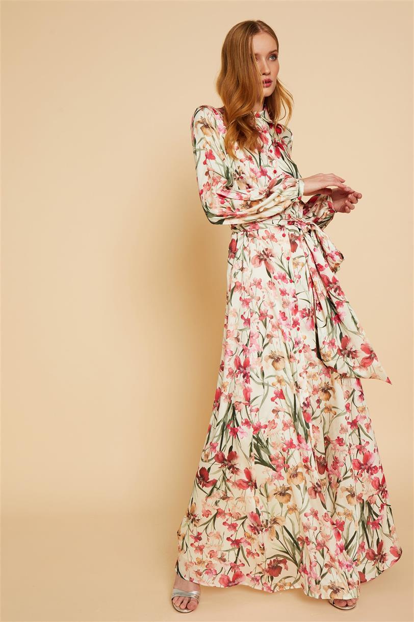Vestido con estampado floral de Andmeunlimited