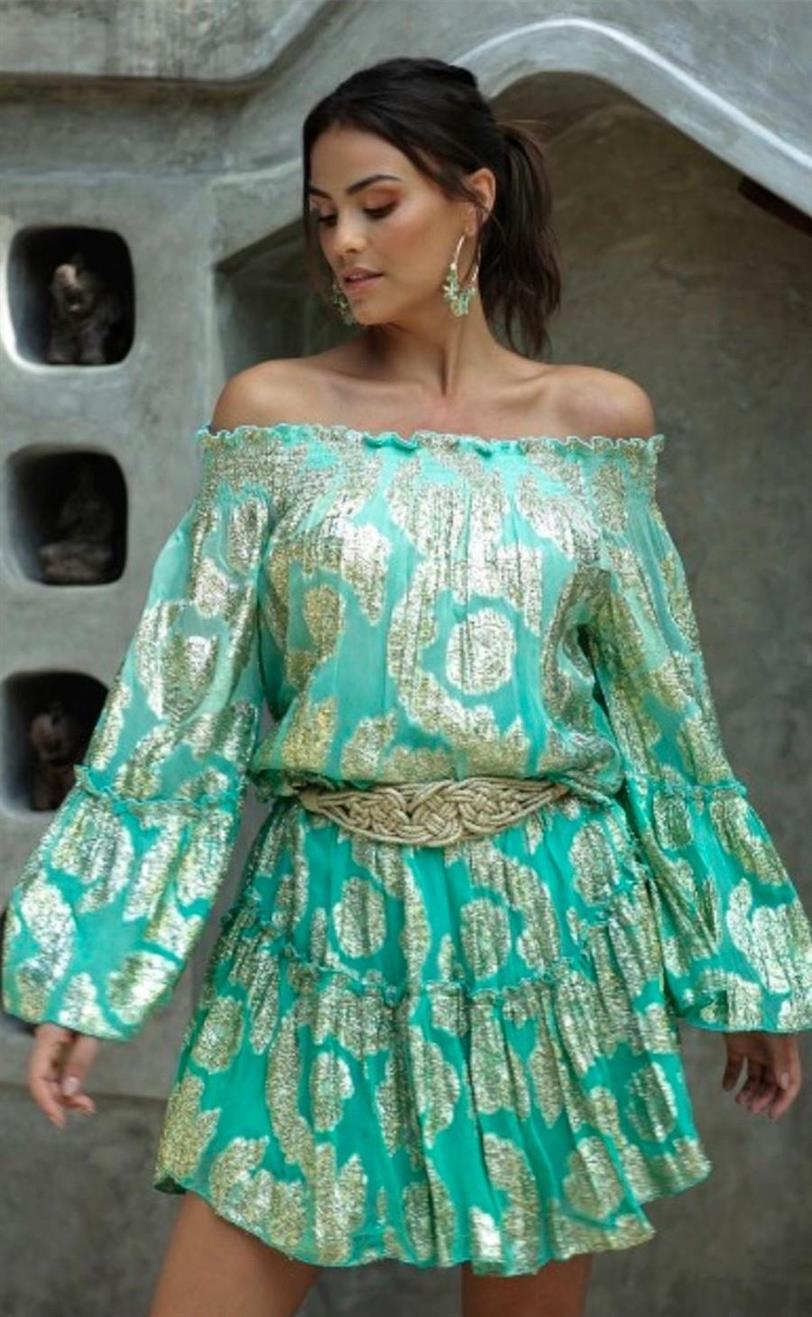 El vestido boho de Paula Echevarría