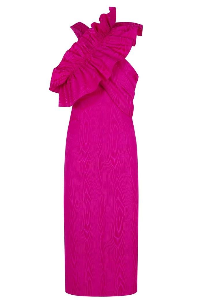 Vestido rosa fucsia