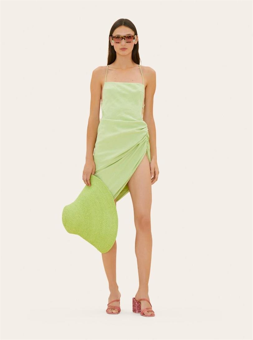 Vestido verde Jacquemus