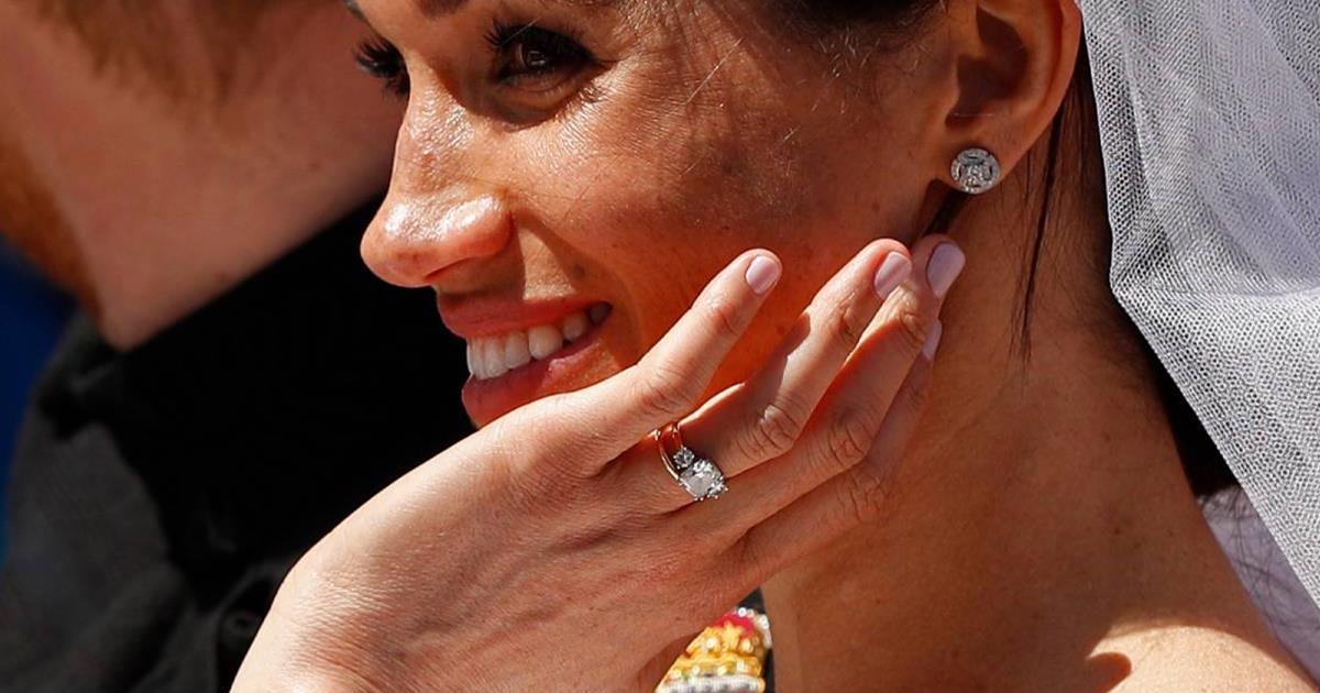 El esmalte de uñas de la manicura de novia de Meghan Markle ha sido un secreto, hasta ahora