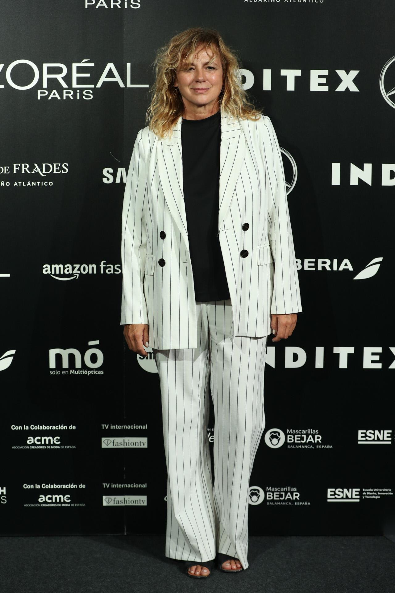 Emma Suárez- Mercedes-Benz Fashion Week Madrid 2020
