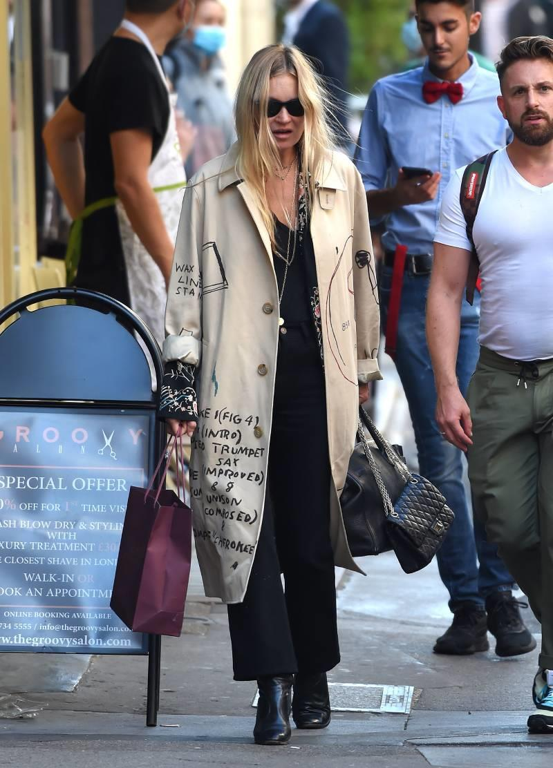 El look de Kate Moss