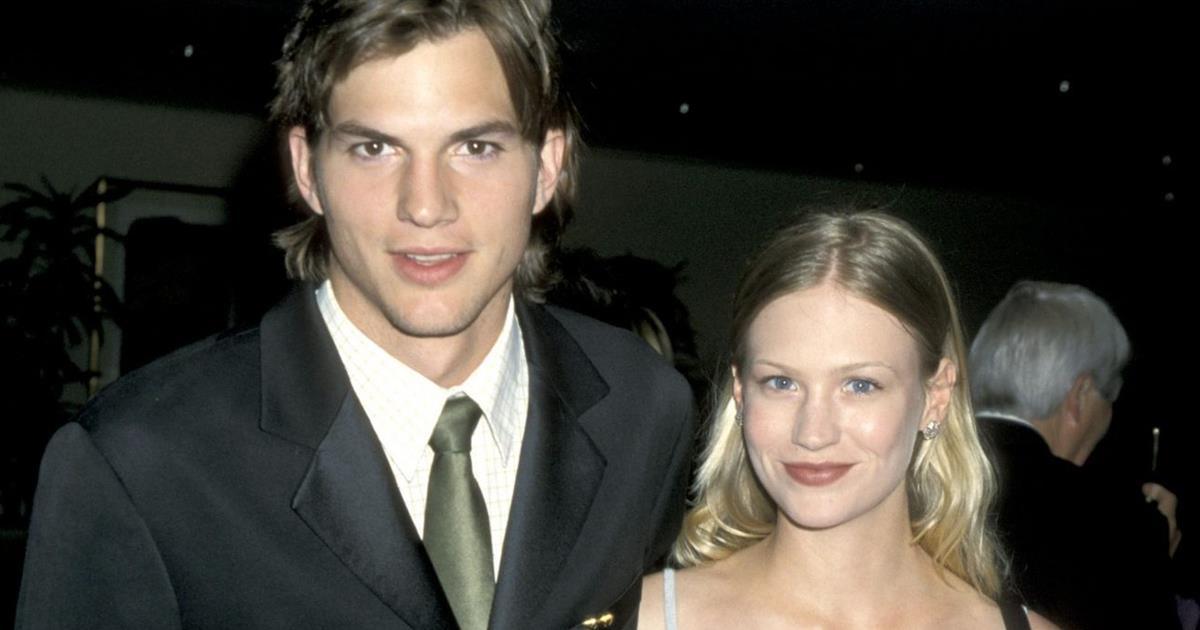 Ashton Kutcher y January Jones: cuando el primer amor se convierte en la primera gran decepción