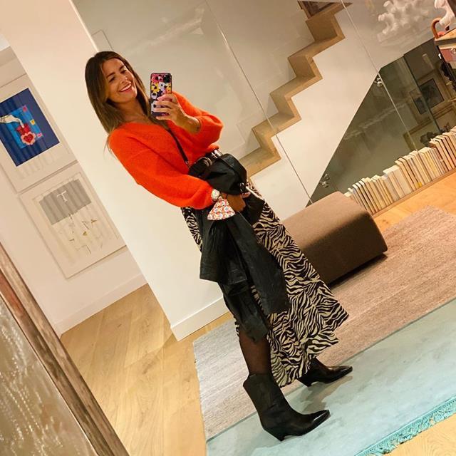Nuria Roca tiene los botines de moda todoterreno de este otoño