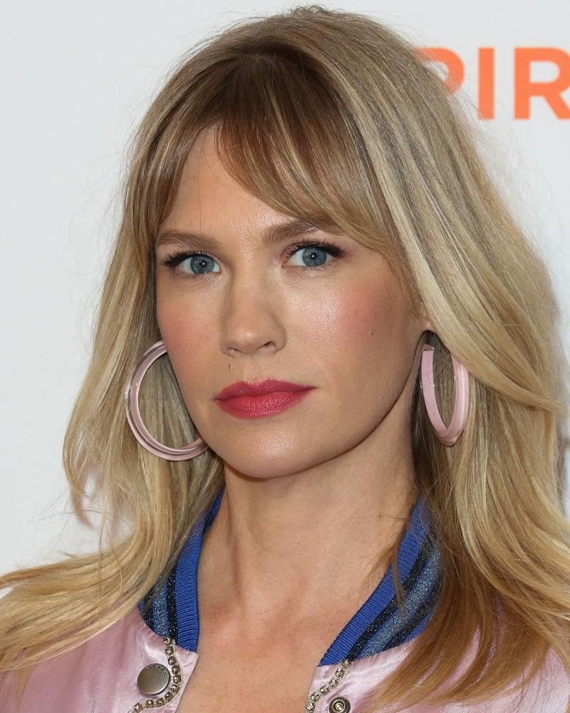 El flequillo de January Jones