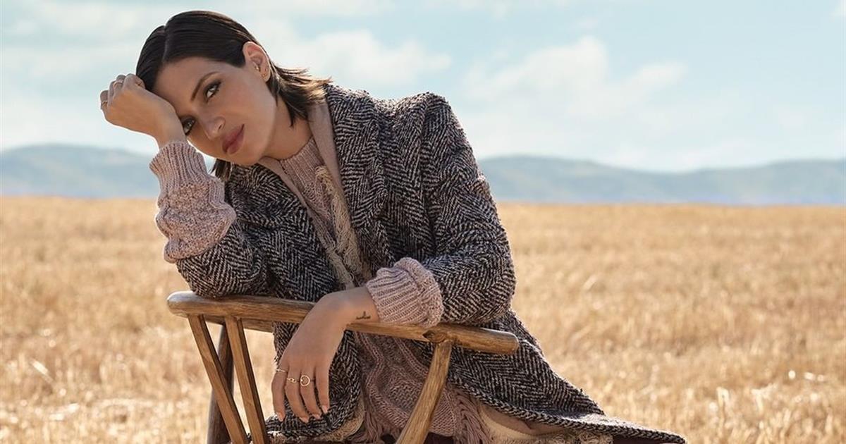 Sara Carbonero con total look de Slow Love para Cortefiel es todo lo que queremos para el otoño