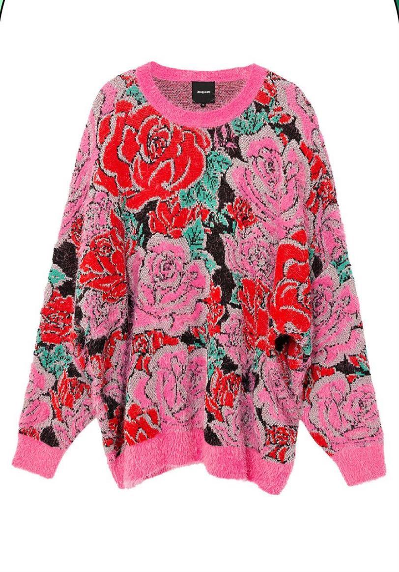 desigual maria escote jersey tricot