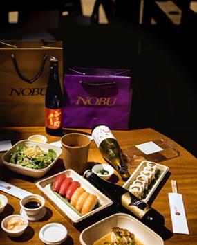 NOBU DELIVER  los mejores restaurantes donde pedir comida en casa - nobu deliver 2 copia b1621e44 285x354