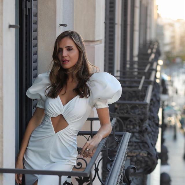 Silvia Zamora tiene el vestido más sexy de Zara