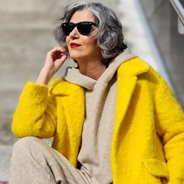 Las 'influencers' maduras eligen este 'total look' de punto made in Zara para un look elegante