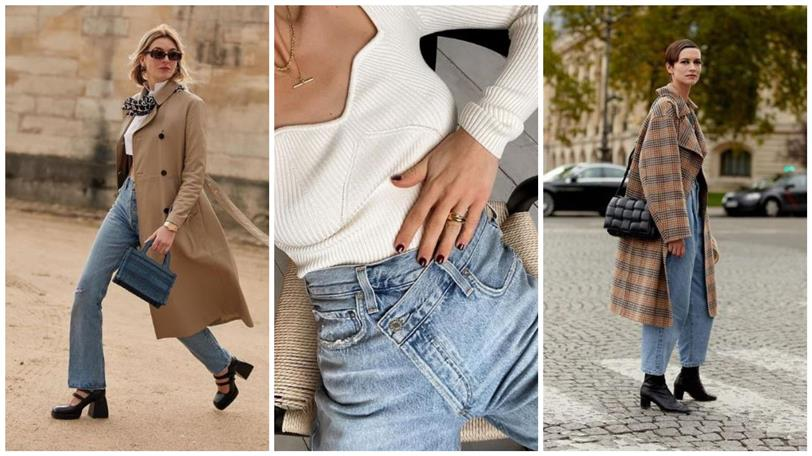 In 2021 you are going to forget about tight jeans: this is the most fashionable jeans of the new year