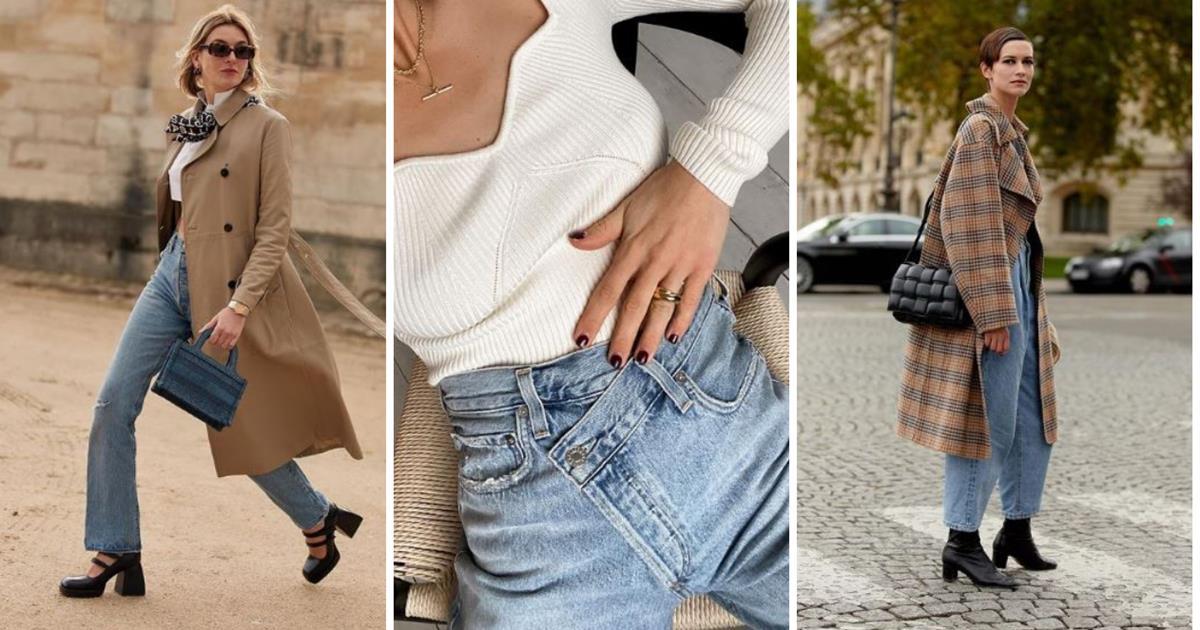 Los Vaqueros De Mujer De Moda En 2021 Seran Anchos Segun Zara Mango Bershka