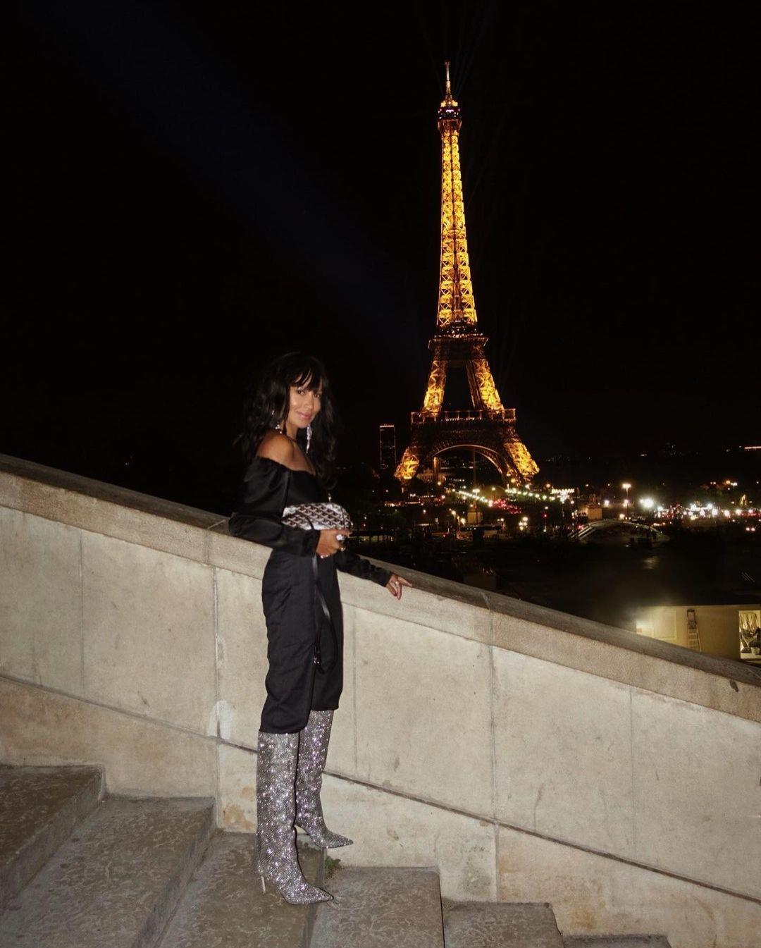 sincerelyjules. Look with sequin boots