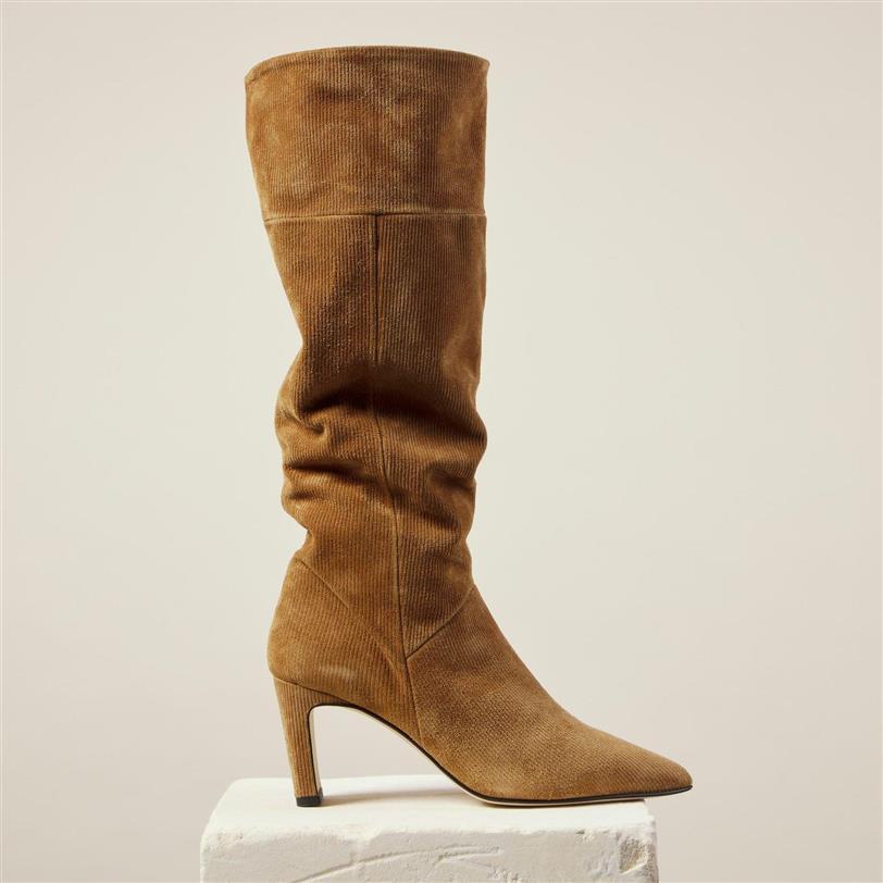 Corduroy boots by Dear Frances