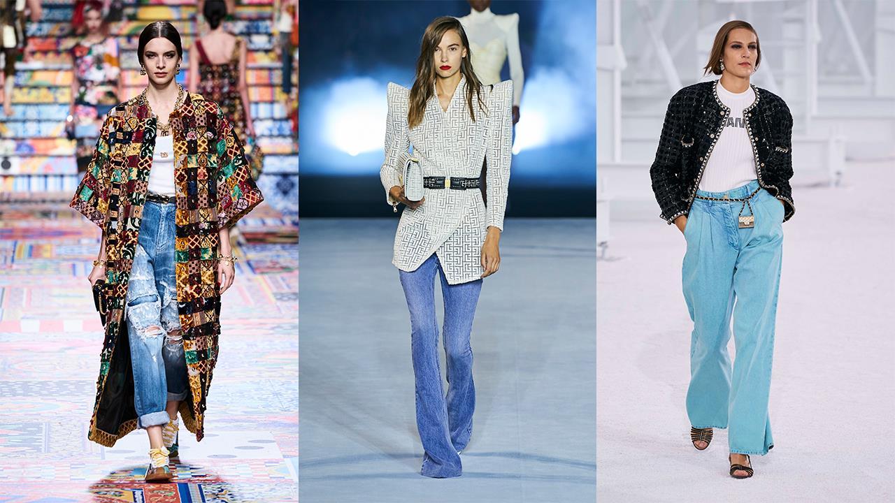 Todos Los Pantalones Vaqueros De Mujer De Moda La Primavera 2021